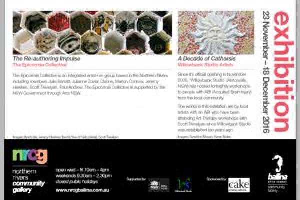 Invitation for 'Decade of Catharsis' Exhibition